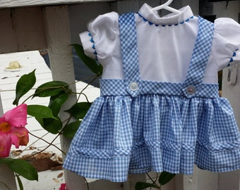 Baby Dorothy Wizard of Oz Costume - 6, 12, 18 months