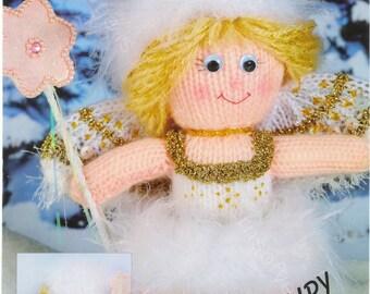 FAIRY DOLL KNITTING Pattern Winter Fairy Doll Original Knitting Pattern Elle