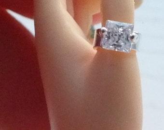 1/4 MSD BJD Princess Engagement Ring