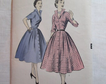 "Antique 1950's Advance Pattern #6955 - size 36"" Bust"