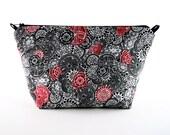 Handmade Makeup Bag, Handmade Clutch Case, Handmade Cosmetics Bag, MAK59543