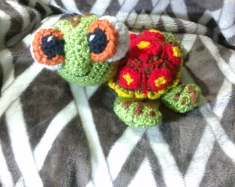Crochet Squirt Sea Turtle