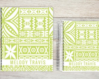 Monthly Planner  | 24 Month Planner | Personalized Monthly Planner | Calendar Planner | 2 Year Planner | Month On Two Pages| tiki