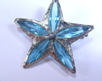 Sale 20 Vintage 1950s SHP Stanley Home Products rhinestone star brooch pin