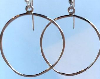 Freeform Hoop Earrings