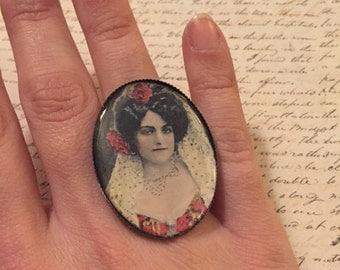 Fortune teller - adjustable ring