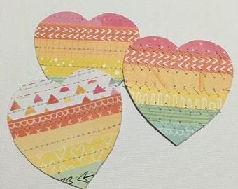 3 Happii Handmade Hearts