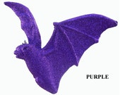 Purple Bat WF246, Halloween Decor, Deco Mesh Supplies