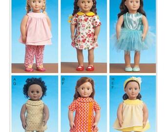 Doll Sewing Pattern-American Doll Pattern Size OSZ-New