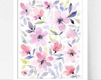 Art Print Resting Garden