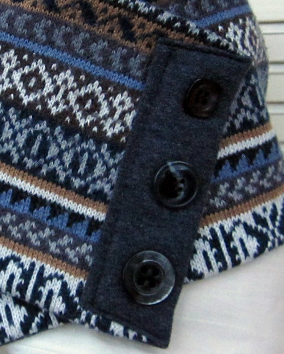 Ugly sweater scarf, men's scarf, hipster scarf