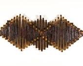 Triple Diamond Wine Barrel Wall Art