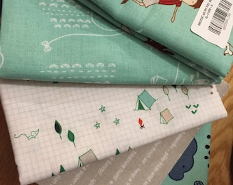 Greatest Adventure Fat Quarter Fabric Bundle by Riley Blake