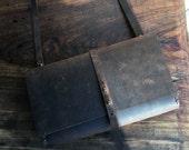 Ashland Travel Wallet / Large Oversized Handmade Cross Body Ticket Holder Organizer / Clutch Wallet / Custom Made Handcsewn Clutch Bag