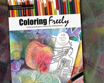 Coloring Freely - an e-book about creative coloring techniques