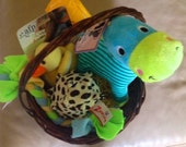 Reserved for M - MY FAVORITE PUPPY Dog Gift Basket