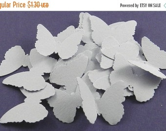 CIJ SALE 50 Soft Lilac Classic Butterfly Die Cuts, Butterflies, Weddings, Decorations, Confetti, Summer, Lavender