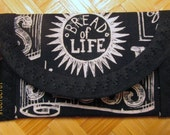 Christian Bread of Life,4 x 2 1/2,  Kings of Kings, 4 x 4 Lamb of God Fabric, Pouch Coin Purse Handbag accessory, Bags & Purses,