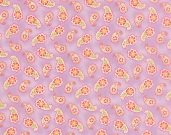 Colette - Paisley in Violet by Chez Moi for Moda Fabrics
