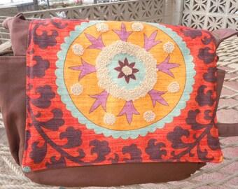 Diaper Bag Bohemian Travel Tote