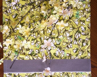 Yellow Lilies Table Runner