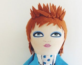 Life on Mars David Bowie doll
