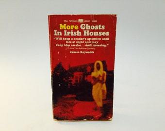 Vintage Horror Book More Irish Ghosts in Irish Houses 1968 Paperback Anthology