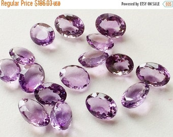 55% ON SALE WHOLESALE 10 Pieces, 66 Ctw Amethyst Cabochon Lot, Oval Cut Faceted Amethyst, 12-15mm, Loose Amethyst Beads, Purple Beads