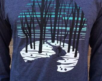 Ski long sleeve shirt