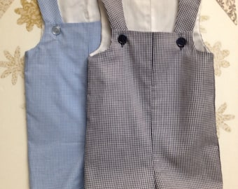 CLEARANCE Baby Boy 6 Month Shortall= Blue Only
