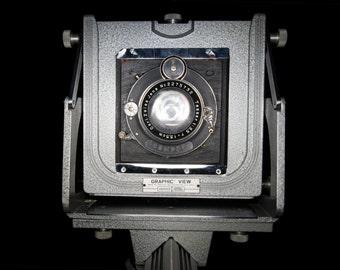 1941 Graflex Graphic View 4x5 Large Format Film Camera