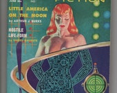 Vintage Super-Science Fiction Magazine GGA Pulp Science Fiction  Digest Size Paperback June 1958 Beautiful, Sexy Kelly Freas Cover Art
