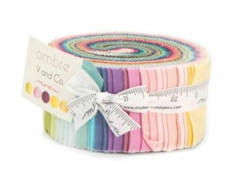 Ombre by V and Co - Jelly Roll (10801JR) - Moda