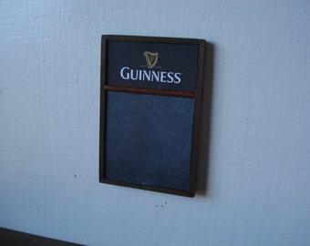 Miniature menu blackboard