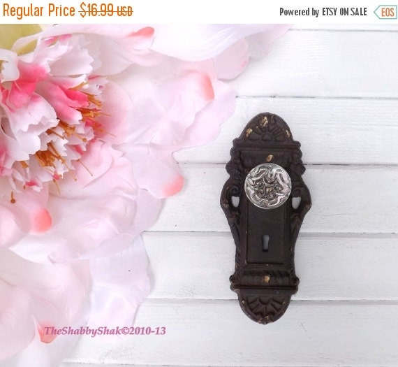 On sale door knob decor shabby chic rustic by - Shabby chic decor for sale ...