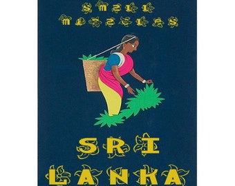 SRI LANKA 1S- Handmade Leather Photo Album - Travel Art