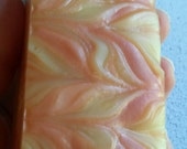 Cold Snap Soap Cleanse the Sinus with Orange, Eucalyptus, Rosemary, Clove Leaf Essential Oils, Orange Illite Clay adds slip, chemical free