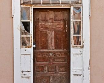 Wooden Door Photographic Print