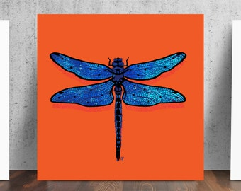 Dragonfly Meaning of Life Print