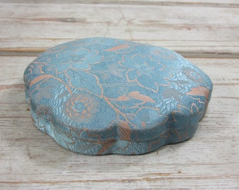 Vintage Brocade Jewelry Box