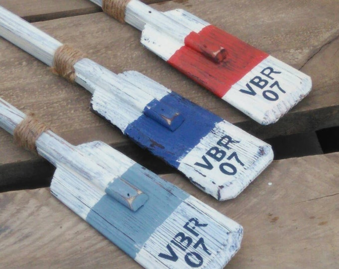 Wooden Oar, Wood Boat Paddle, Nautical Rowing Oars, Lake House Wall Art, Primitive Canoe, Decorative Paddles, Poop Deck, Seaside Retreat
