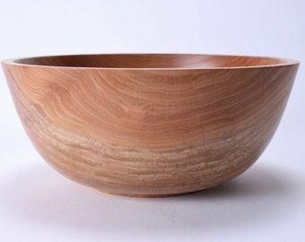 Sycamore Wooden Salad Bowl #1480