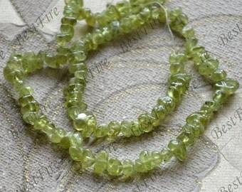 Single olivine nugget stone beads,stone beads, olivine stone beads,gemstone beads loose strand