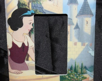 Snow White Disney Princess Vintage Golden Book Resin Decora Switchplate Light Cover