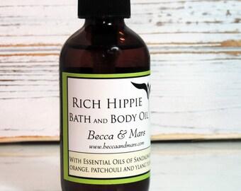 Rich Hippie Bath and Body Oil - Massage Oil, Bath Oil