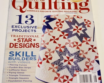 Quilting Magazine - HALF PRICE Fons and Porter's Love of Quilting July/August 2015 Issue