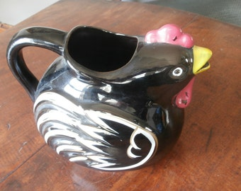 Chicken or Rooster Water Pitcher