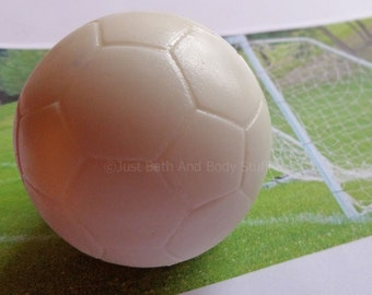 Soccer Ball Soap Bar 3D - You pick scent & color