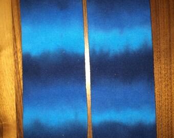 Tie Dye Hippie Blues Stripes Baby Legs Leg Warmers Toddler Child
