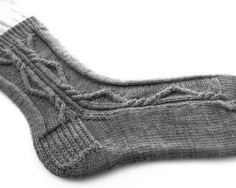 Knit Sock Pattern:  Venus's Favorite Socks Knitting Pattern